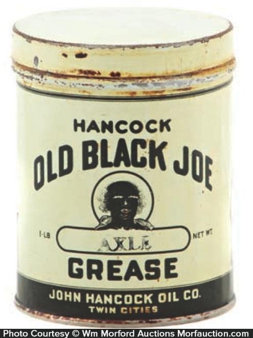 Old Black Joe Grease Tin