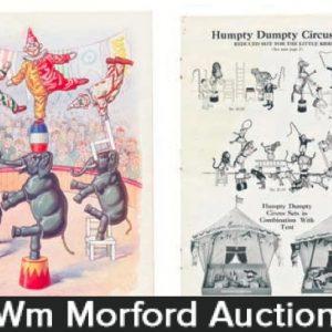 Schoenhut Humpty Dumpty Circus Toy Catalog