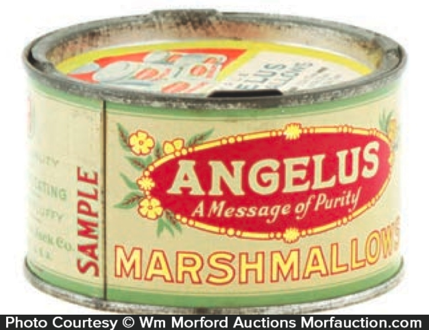 Angelus Marshmallows Sample Tin