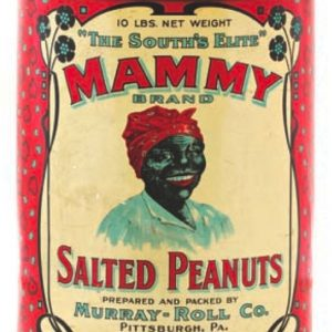 Mammy Peanuts Tin