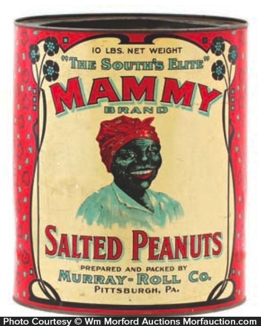 Mammy Peanuts Tin