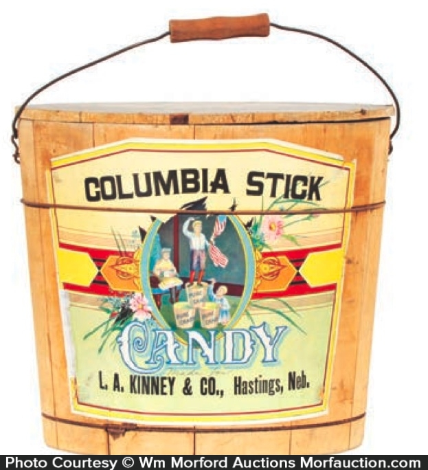 Columbia Candy Bucket