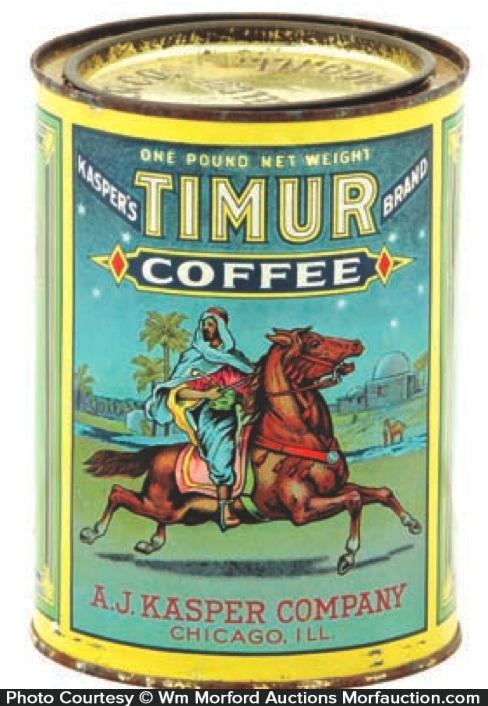 Timur Coffee Can