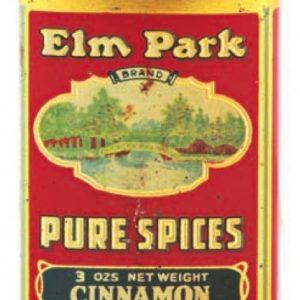Elm Park Spice Tin