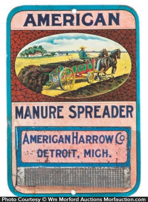 American Manure Spreader Match Holder