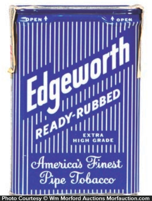 Edgeworth Ready-Rubbed Tobacco Tin