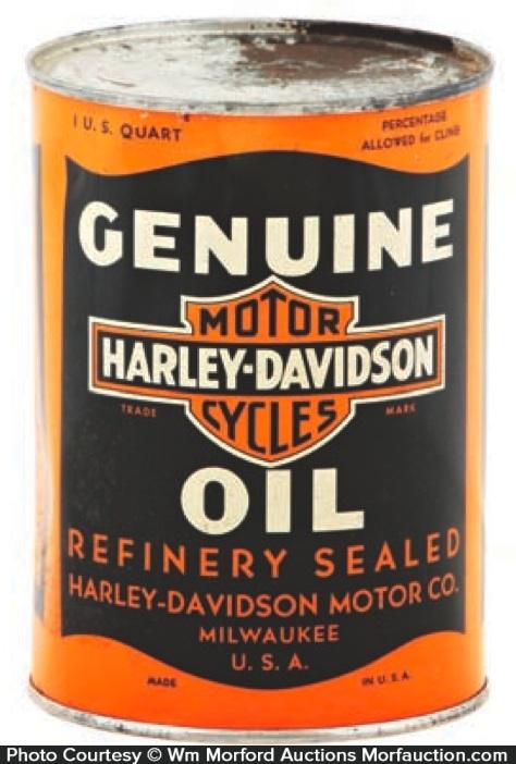 Harley-Davidson Oil Can