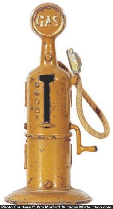 Iron Gas Pump Toy