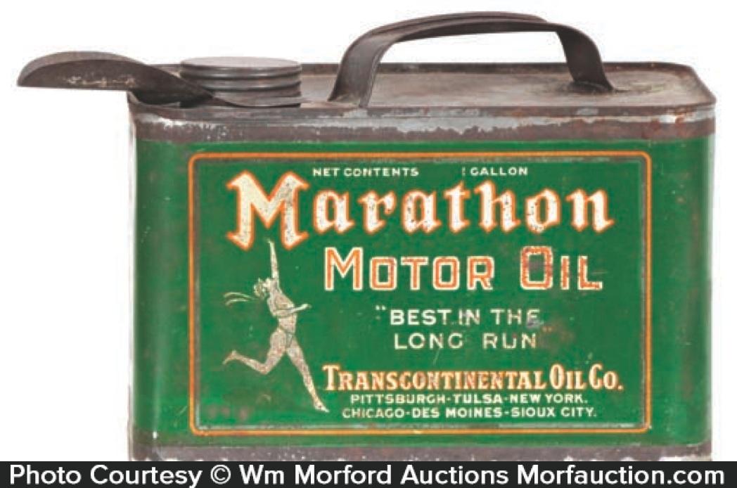 Marathon Oil Can