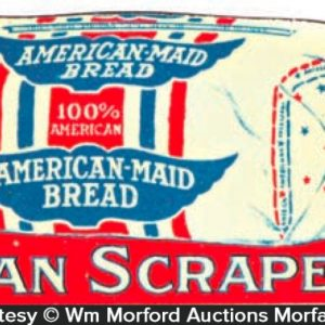 American Maid Bread Pot Scraper