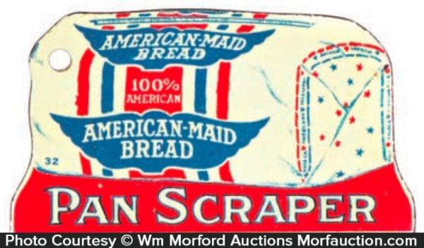 American Maid Bread Pot Scraper