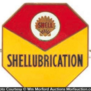 Shell Oil Uniform Badge