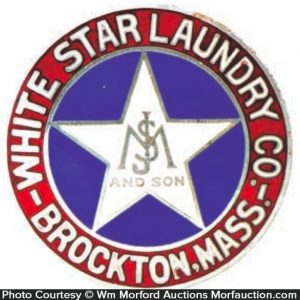 White Star Laundry Badge