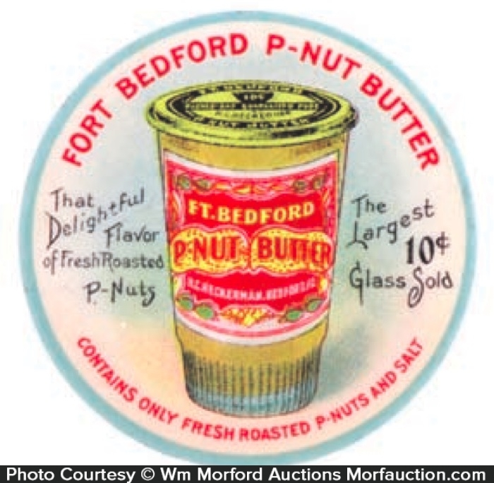 Fort Bedford Peanut Butter Mirror