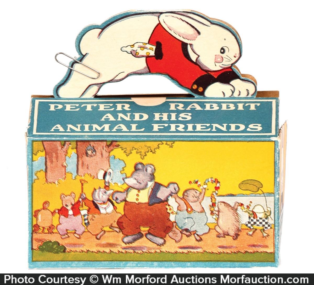 Peter Rabbit Animal Crackers Box
