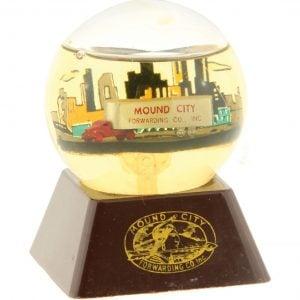 Mount City Snow Globe