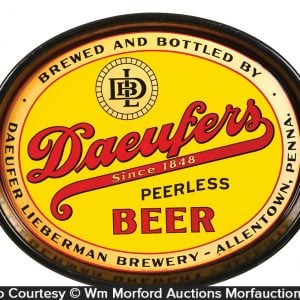 Daeufer Lieberman Beer Tray