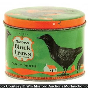 Mason's Black Crows Candy Tin