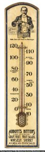 Abbotts Bitters Thermometer