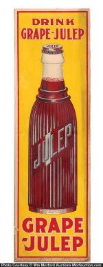 Grape-Julep Sign
