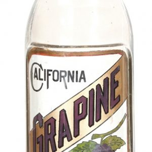 California Grapine Syrup Bottle