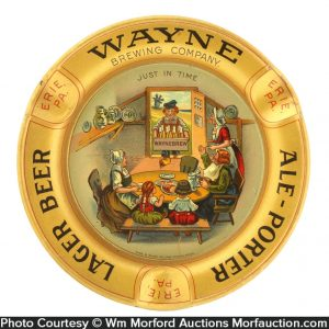 Wayne Brewing Company Ashtray