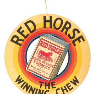 Red Horse Tobacco Sign