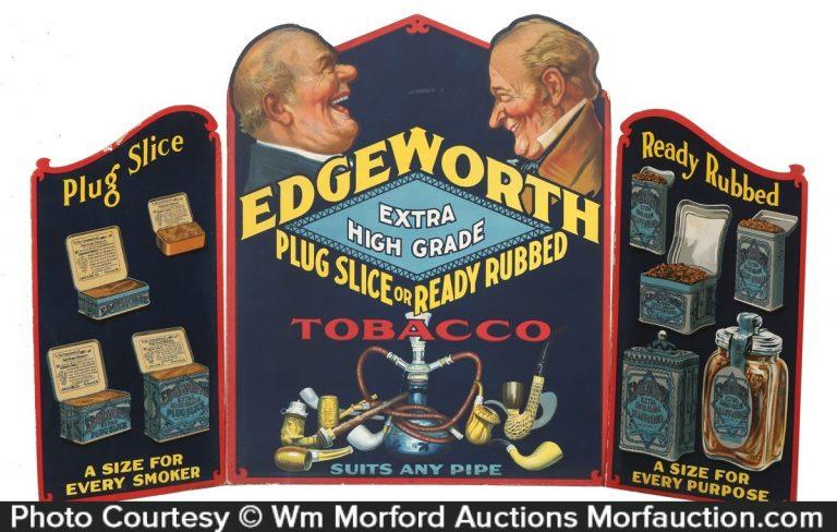 Edgeworth Tobacco Display