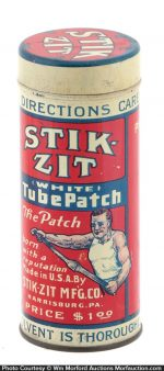 Stik-Zit Tire Patch Tin