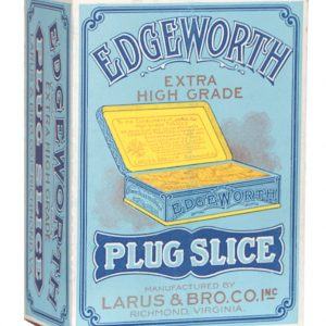Edgeworth Plug Slice Tobacco Display Box
