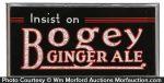 Bogey Ginger Ale Sign