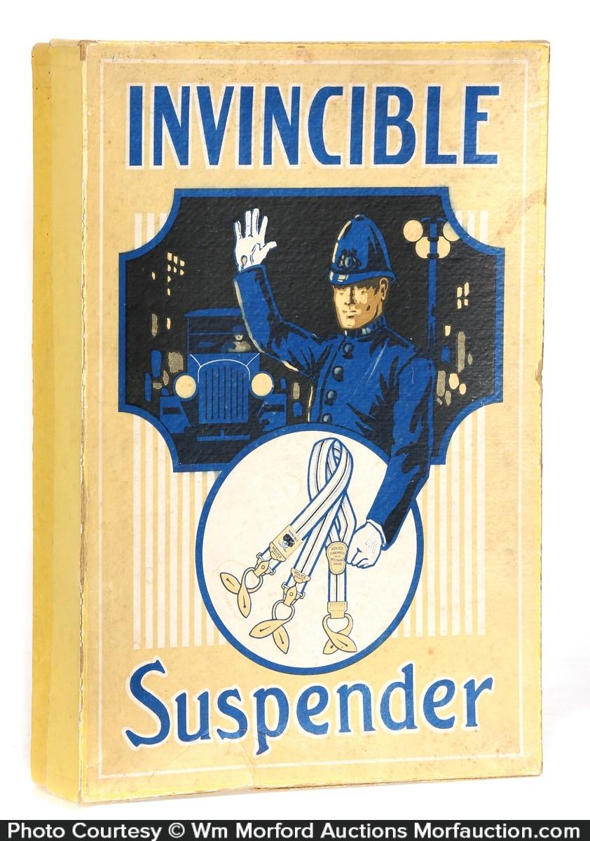 Invincible Suspenders Box