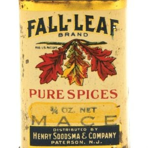 Fall-Leaf Spice Tin