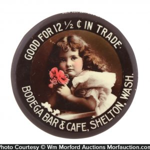 Good For Trade Saloon Pocket Mirror