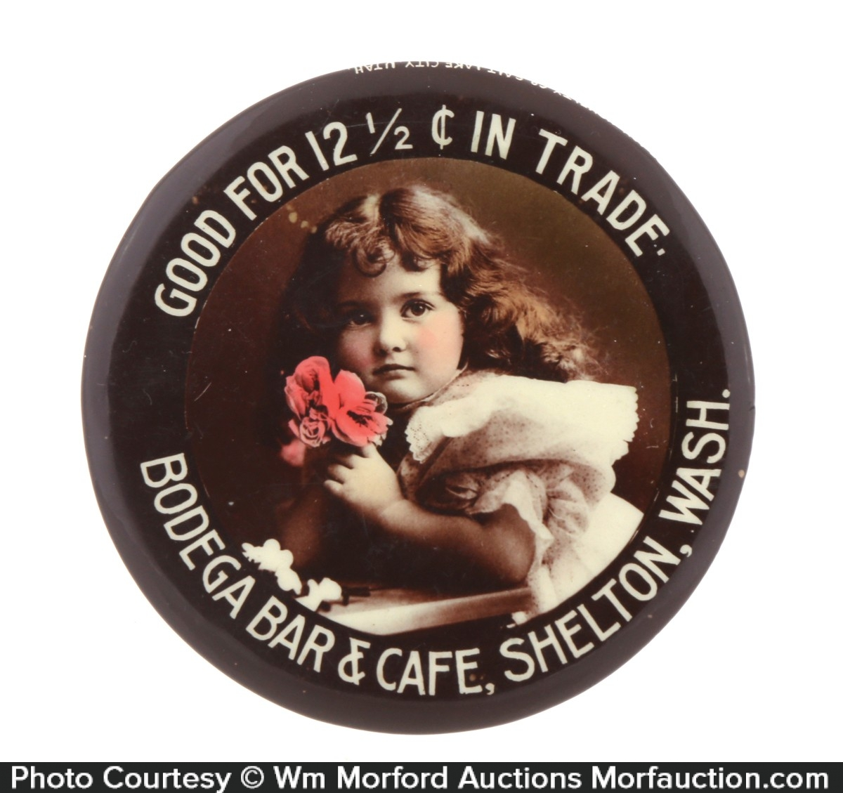 Good For Trade Saloon Pocket Mirror