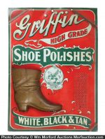 Griffin Shoe Polish Match Holder