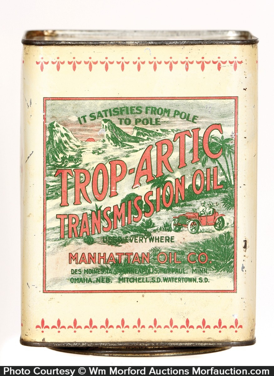Trop-Artic Transmission Oil Can
