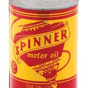 Spinner Motor Oil Can