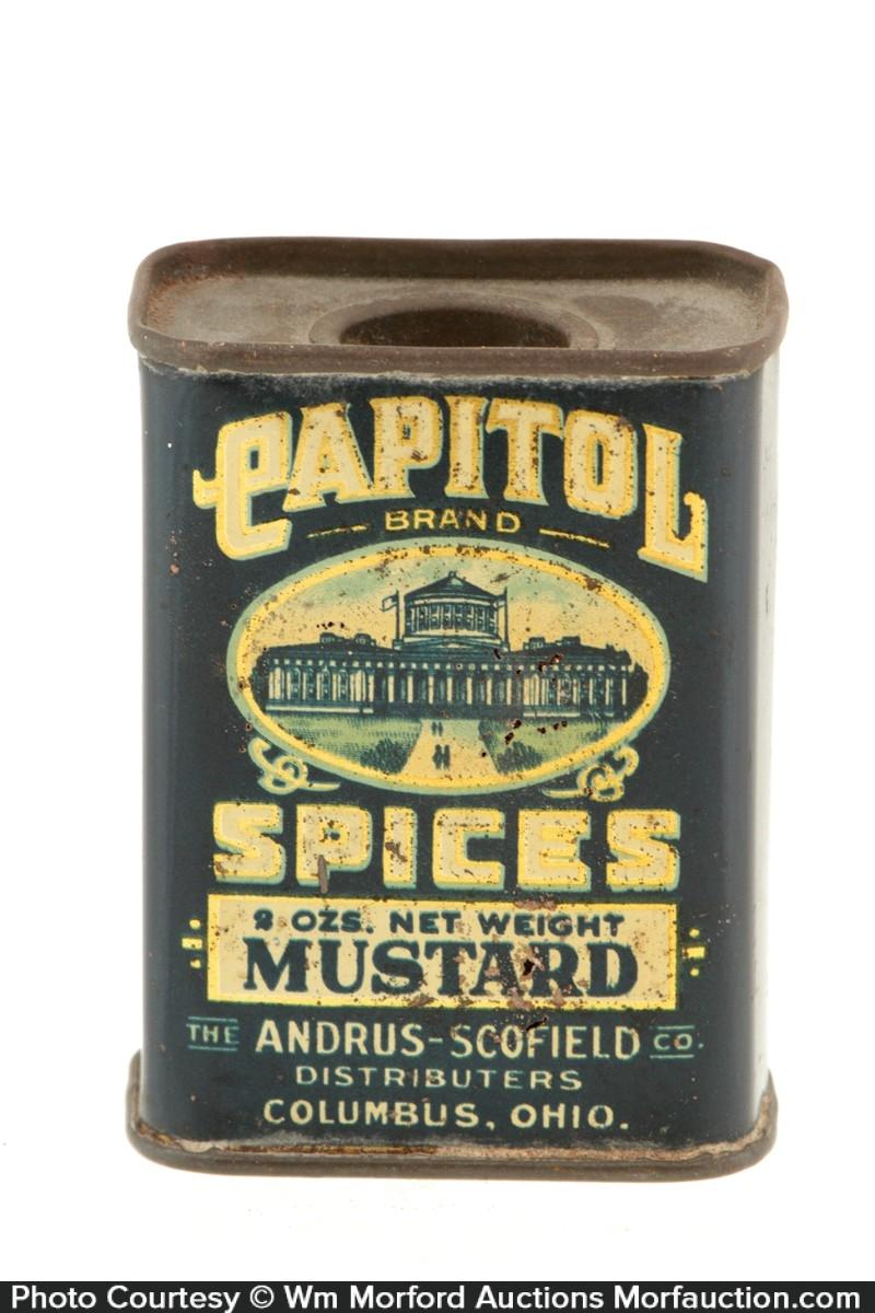 Capitol Spice Tin