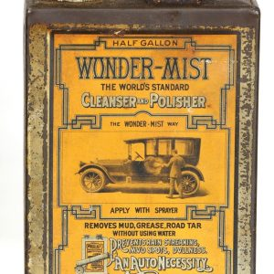 Wonder-Mist Car Polish Tin