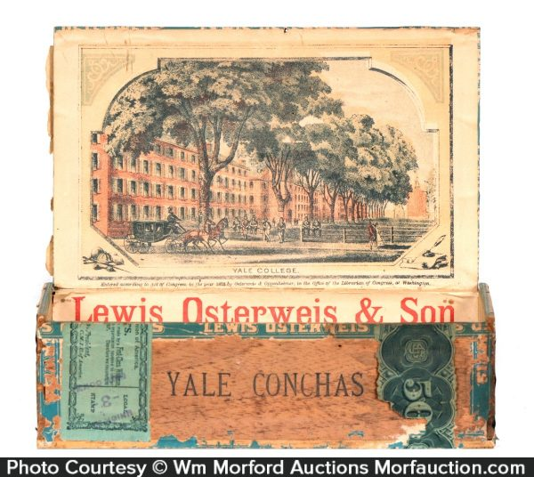 Yale College Conchas Cigar Box