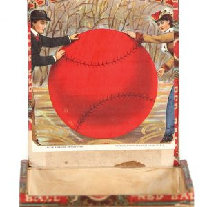 Red Ball Cigar Box