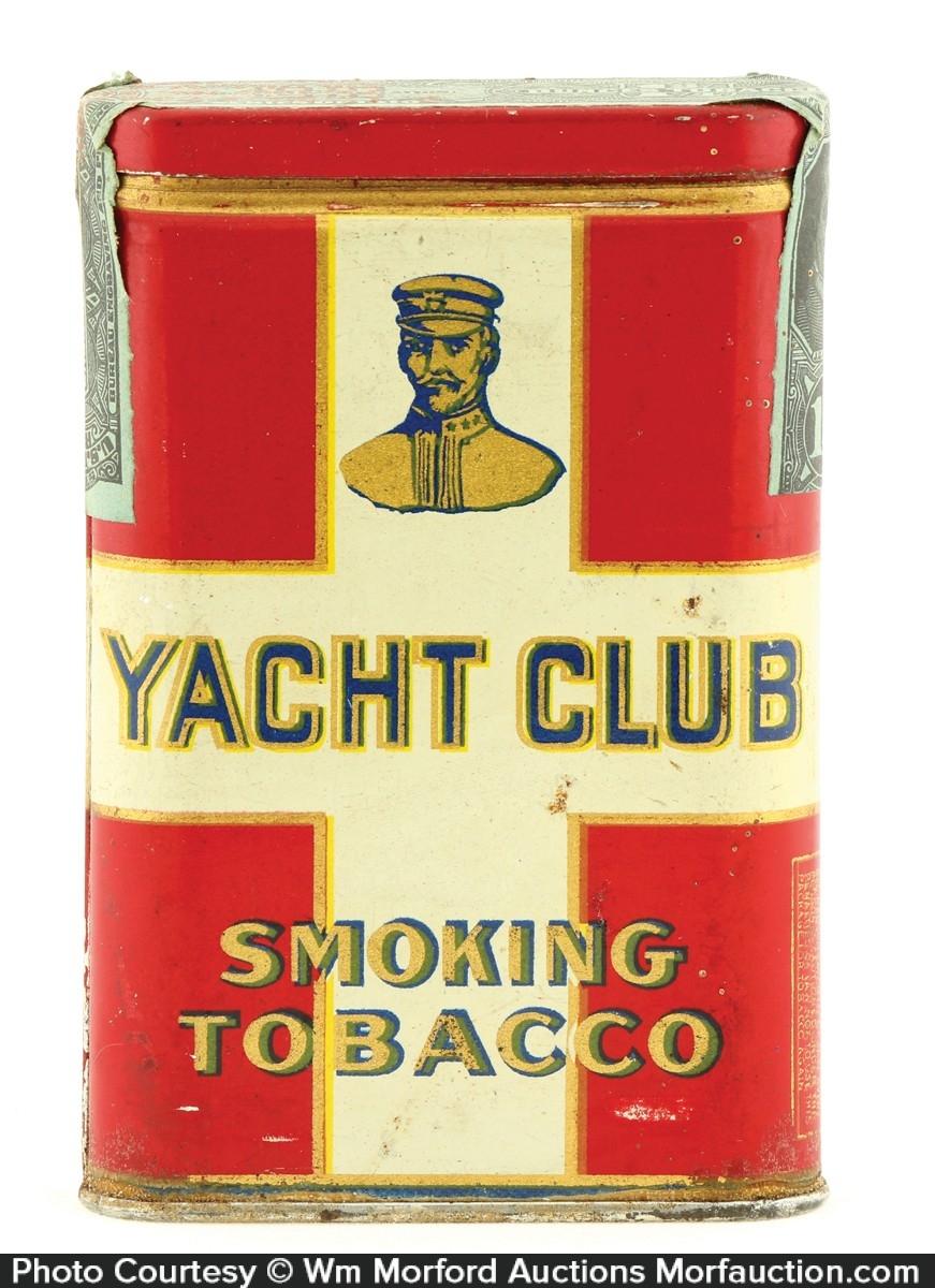 Yacht Club Smoking Tobacco Tin