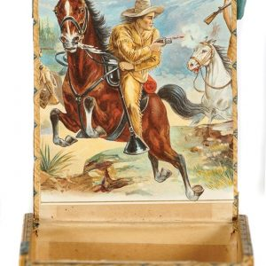 Kit Carson Cigar Box