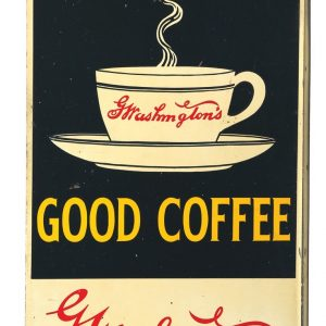 Washington's Coffee Sign