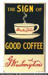 Washington's Coffee Sign