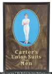 Carters Union Suits Sign