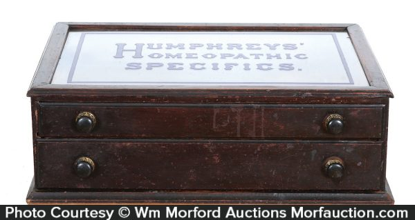 Humphreys' Homeopathic Specifics Cabinet