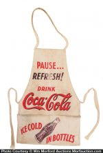 Vintage Coca-Cola Apron