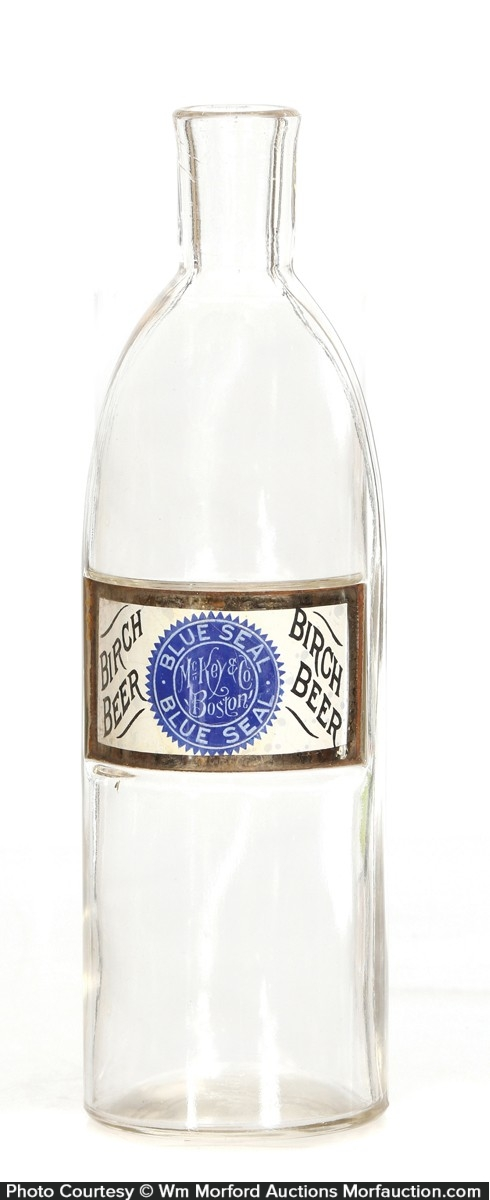 Blue Seal Birch Beer Syrup Bottle